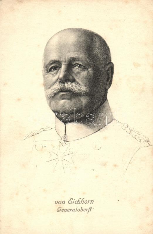 Generaloberst von Eichhorn, Hermann von Eichhorn német vezérezredes