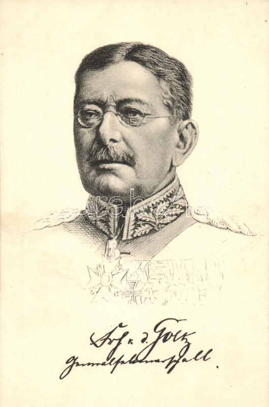 Generalfeldmarschall von der Goltz, Colmar von der Goltz német vezértábornagy
