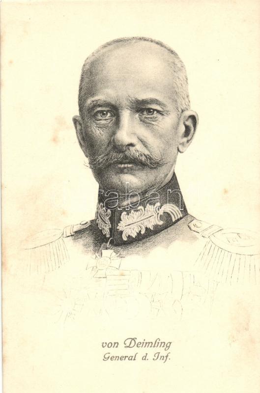 General der Inf. Von Deimling, Berthold von Deimling német tábornok