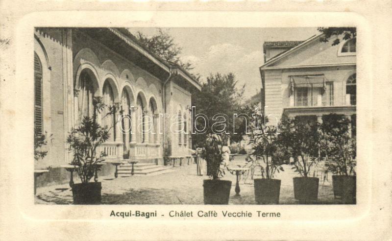 Acqui Terme (Acqui Bagni), Chalet Caffe Vecchie Terme / cafe