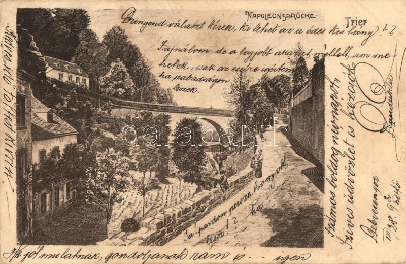 Trier, Napoleonsbrücke / bridge