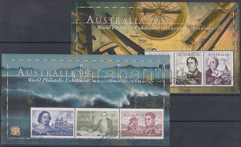 International Stamp Exhibition: Sailors block pair