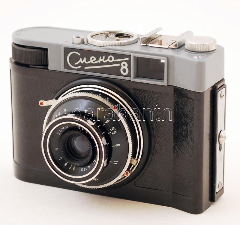 Régi Smena 8 típusú analóg fényképezőgép 358abedf2d