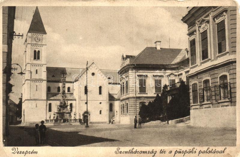 Veszprém, Szentháromság tér, Püspöki palota