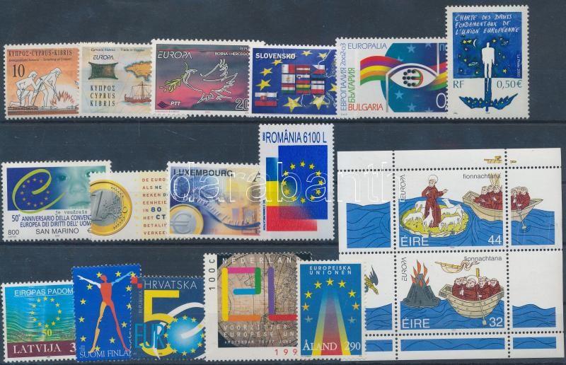 Europa CEPT 1994-2004 1 set+ 1 block + 13 values, Europa CEPT 1994-2004 1 sor + 1 blokk + 13 klf önálló érték