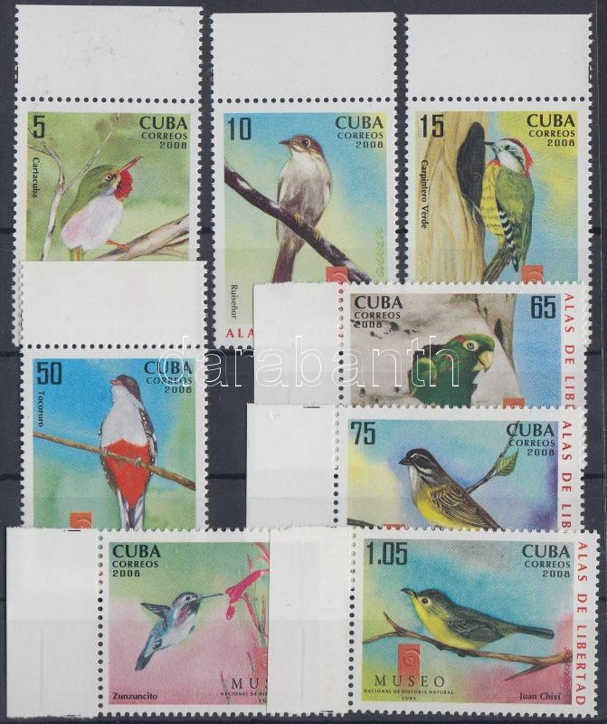 Birds margin set, Helyi madarak ívszéli sor