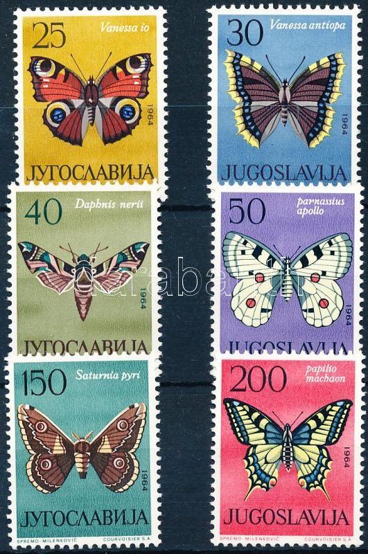 Butterflies set, Lepke sor