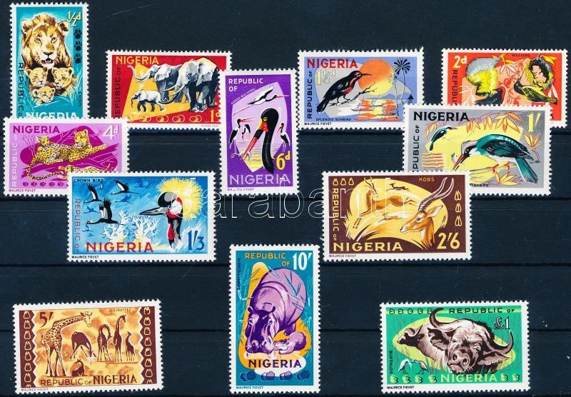 Animals set (179 and 182 missing), Állat sor (179 és 182 hiányzik)