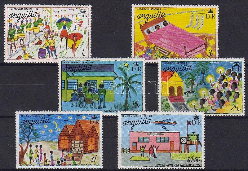 Karácsony, gyermekrajzok sor, Weihnachten: Kinderzeichnungen