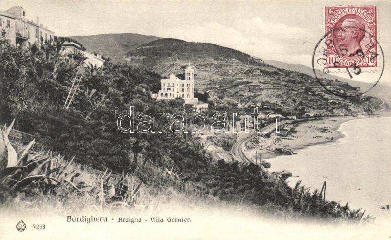 Bordighera, Villa Garnier