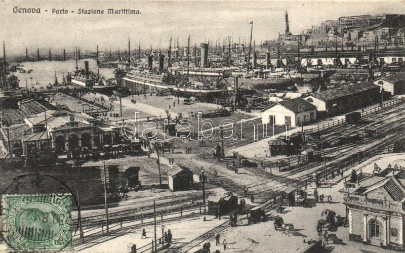 Genova, Porto, Stazione Marittima / Port, Harbour Station