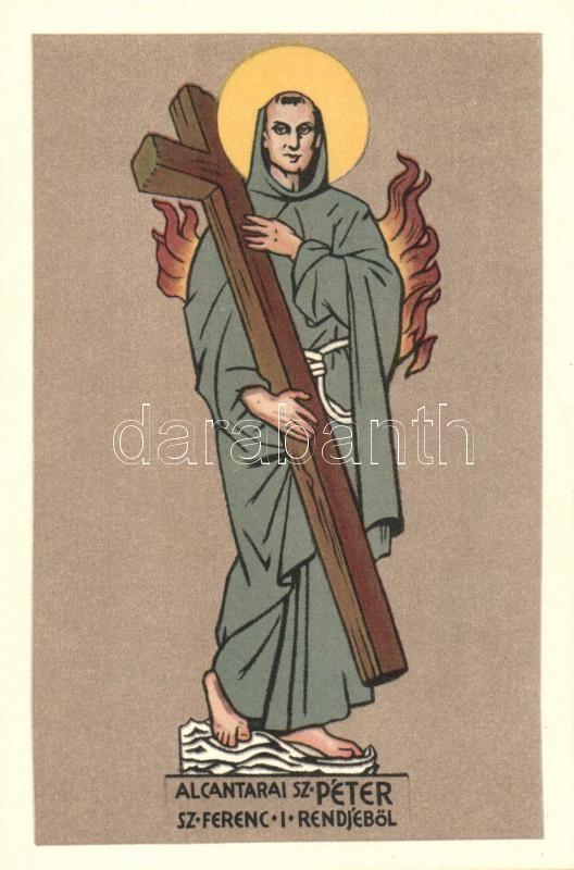 St. Peter of Alcantara s: Unghváry Sándor, Alcantarai Szent Péter s: Unghváry Sándor