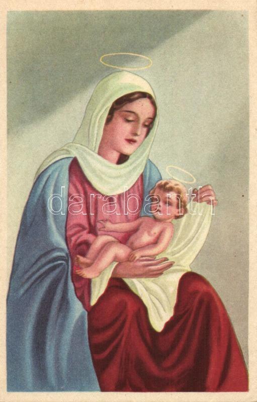 Saint Mary with baby Jesus, 'Rekord' Nr. 1001., Szűz Mária a kisded Jézussal, 'Rekord' Nr. 1001.