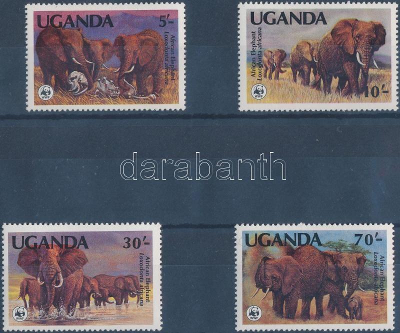 WWF African elephant set, WWF afrikai elefánt sor