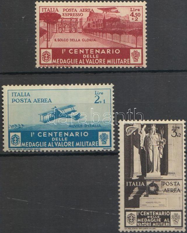 Airmail and airmail express stamps, Légiposta és légiposta-expressz bélyegek
