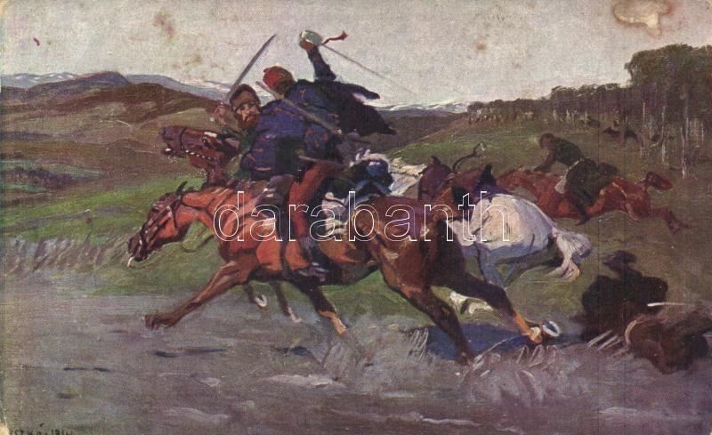 The death of the Cossacks in Máramaros s: Juszkó, Kozák halál Máramaroson, s: Juszkó