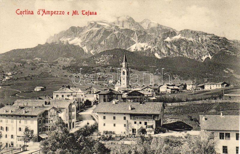 Cortina d`Ampezzo, Tofana, Hotel Vittoria