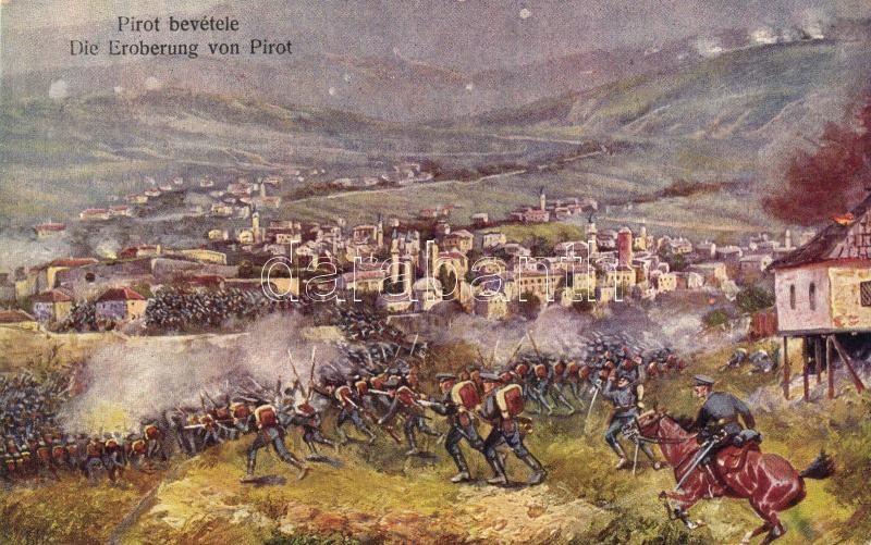 Military WWII battle of Pirot, II. világháború, csata Pirotnál