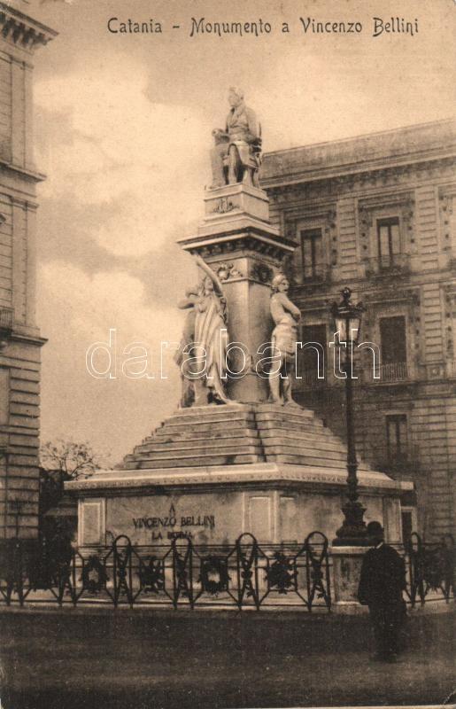 Catania, Monumento a Vincenzo Bellini / monument