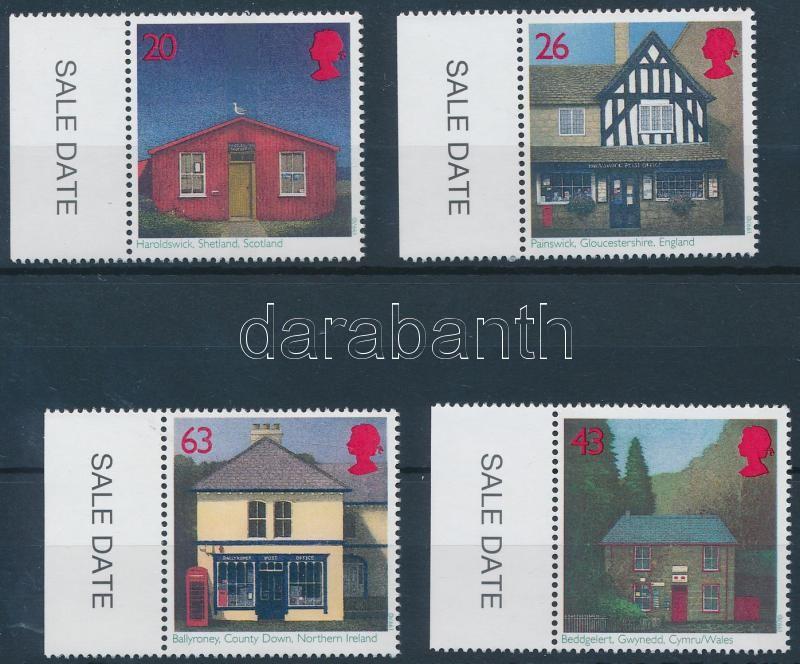 Centenary of British postmaster association margin set, 100 éves a brit postamesteri szövetség ívszéli sor