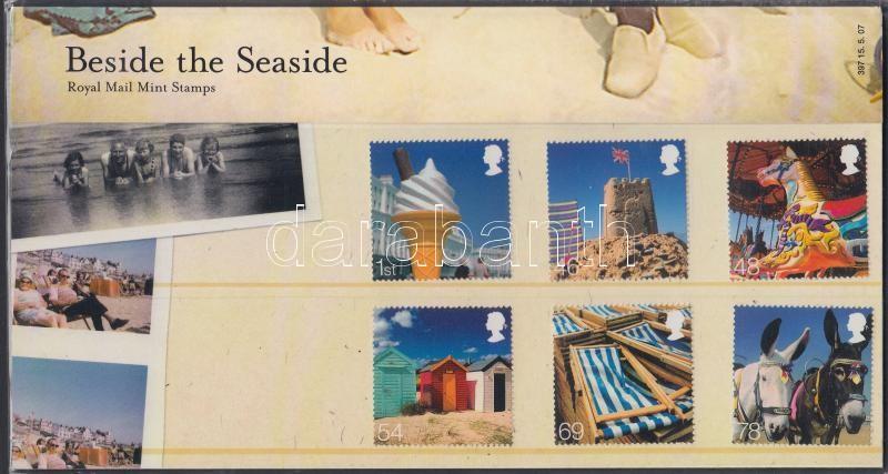 Beside the Seaside set in holder, Tengerparti nyaralás sor díszcsomagolásban