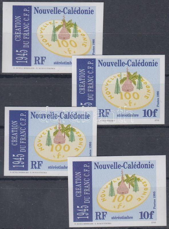 50th anniversary of the CFP franc imperforated set, 50 éves a csendes-óceáni valutaközösségi frank vágott sor