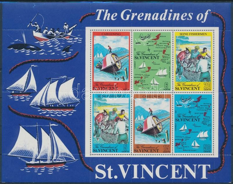Grenadines block, Grenadines blokk