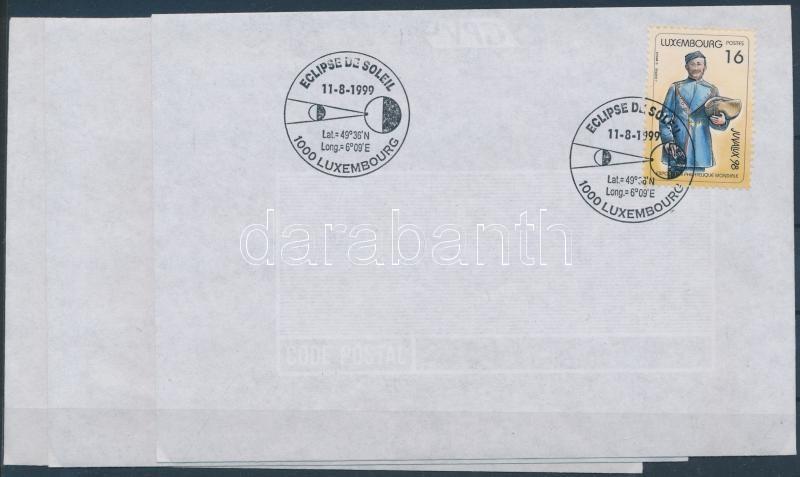 JUVALUX nemzetközi ifjúsági bélyegkiállítás sor 3 FDC, JUVALUX International Youth Stamp Exhibition set 3 FDC