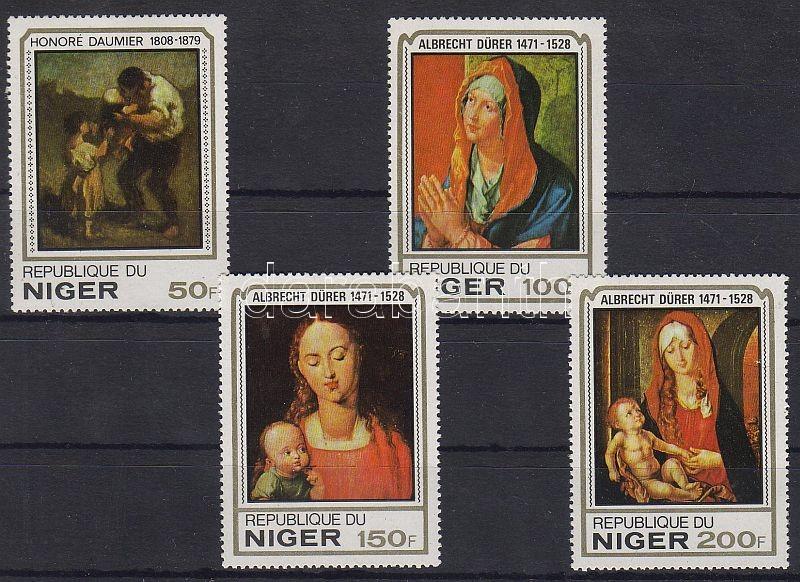 Paintings of Daumier and Dürer set, Daumier és Dürer festmények sor, Gemälde von Daumier und Dürer Satz