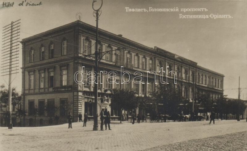 Tbilisi, Tiflis; Hotel Orient