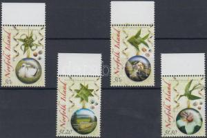 2006 Karácsony: karácsonyi díszek a szigetek jellemző motívumaival ívszéli sor Mi 973-976