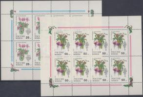 1993 Szobanövények kisívsor Mi 298-299