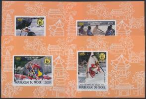 1988 Nyári Olimpia, Szöul sor vágott blokkformában Mi 1049-1052