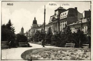 Arad, Union Park, photo (small tear)