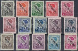 Szerbia 1941 Mi 1-15