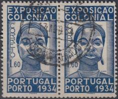 Colonial exhibition horizontal pair, Gyarmati kiállítás vízszintes pár