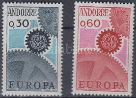 1967 Europa CEPT sor Mi 199-200