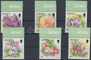 2007 Nyári virágok ívszéli sor Mi 1298-1303