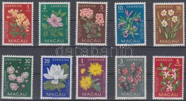 1953 Forgalmi: virágok sor Mi 394-403