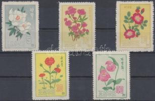 1963 Virágok sor Mi 456-460