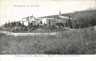 Assisi, Santurio di San Damiano, Clarisse, Levante / monastery