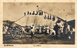 Bengasi, Le Saline / salt mine