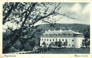 Nógrádverőce, Migazzi kastély (Rb)