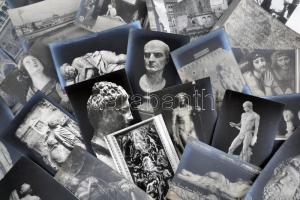 Rome, Roma; Galleries, art - 110 old unused postcards