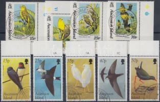 1993-1998 Birds 2 margin set, 1993-1998 Madarak 2 db ívszéli sor