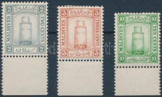 1933 Forgalmi sor Mi 11-13