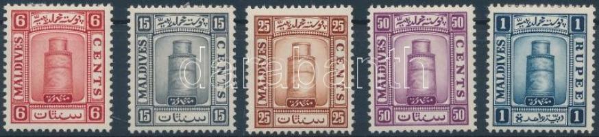 1933 Forgalmi sor az első érték hiányzik Mi 15-19