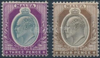 1903 Forgalmi értékek Mi 21-22
