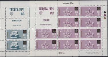 1974 Europa CEPT kisívsor Mi 493-496