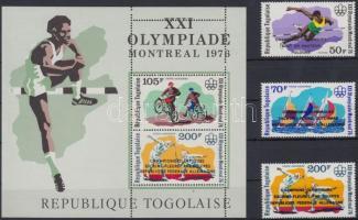 Summer Olympics medalists set + block, Nyári olimpia érmesei sor + blokk
